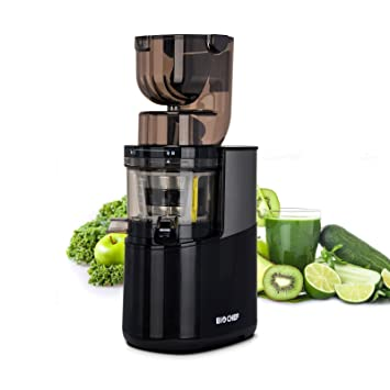 BioChef Atlas Whole Slow Juicer Pro – Extractor de zumos, 400 Watts, 40 RPM