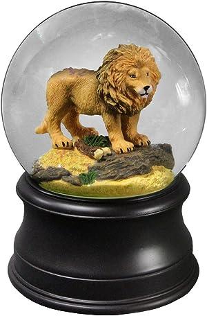 The San Francisco Music Box Company Proud Lion Water Globe