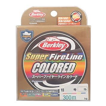 1.5号 バークレー ) スーパーファイヤーライン (24lb) 【スロージギング】 カラード1200m