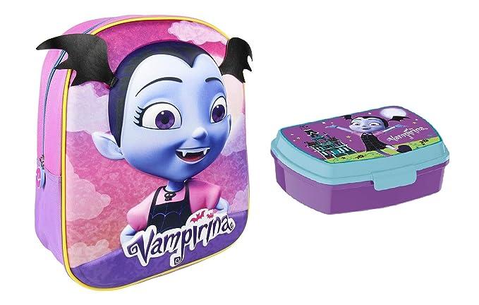 Vampirina mochila + fiambrera Vampirina: Amazon.es: Equipaje