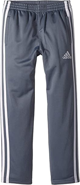 b46d3a6084c8 adidas Kids Baby Boy s Iconic Snap Pants (Toddler Little Kids) Grey 2T  Toddler
