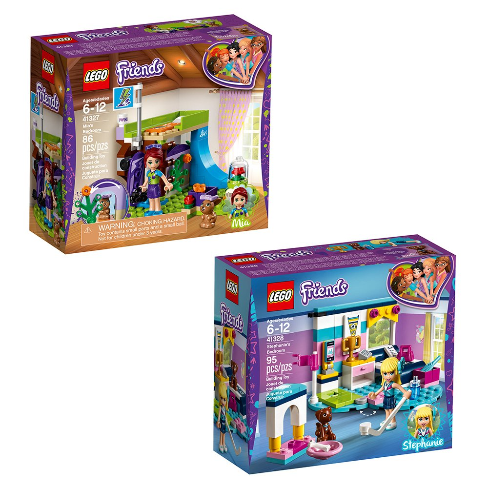 LEGO Friends Bundle Building Kit (181 Piece)