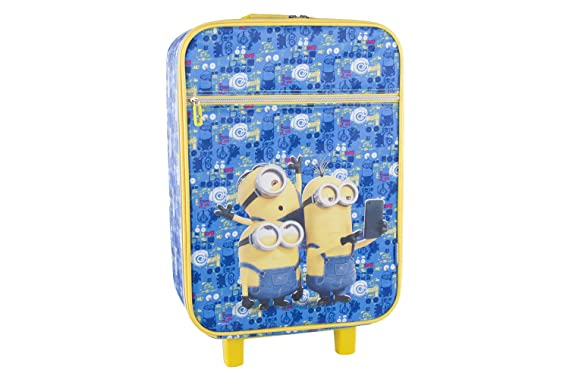 Pam Shop Maleta semirrígida MINIONS SELFIE azul mini ...