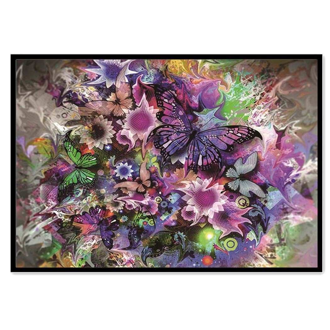 GEESENSS DIY 5D Diamond Painting Kits Rhinestone Flower Paintings Painting Crystals Embroidery Kit Home Wall Decoration Craft
