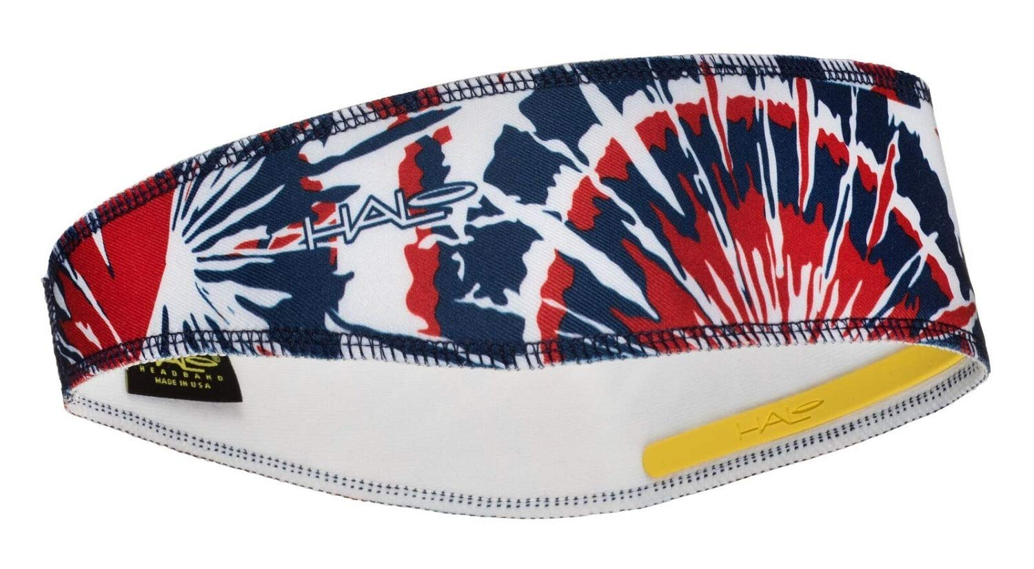 Halo Headbands Halo II Sweatband Pullover, Red White & Blue Tie Dye by Halo Headbands
