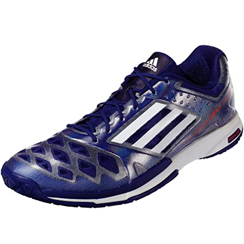 Adidas B40487 46 adizero 5 feather UK 11 Badminton bleu foncé EU OqfOwr4t
