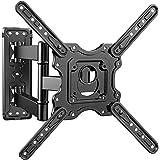 PERLESMITH テレビ壁掛け用金具 アーム 32-55インチ対応 耐荷重40kg LCD LED 液晶テレビ用 見やすい多角度調節可能 光沢度&強靭性良い 限定版 VESA400x400mm