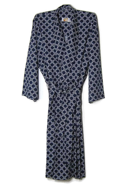 Hello Club Mens Robes 3XL Navy Blue Sleep Loungewear Big