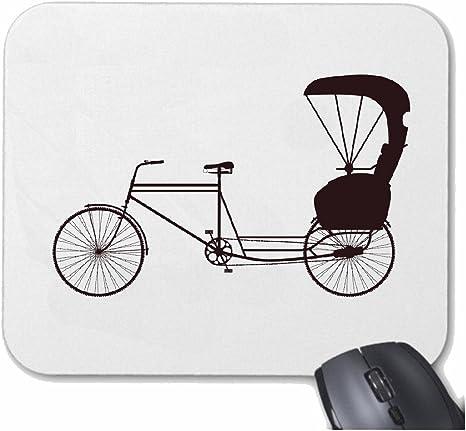 Mousepad alfombrilla de ratón Silueta de la bicicleta montaña de ...