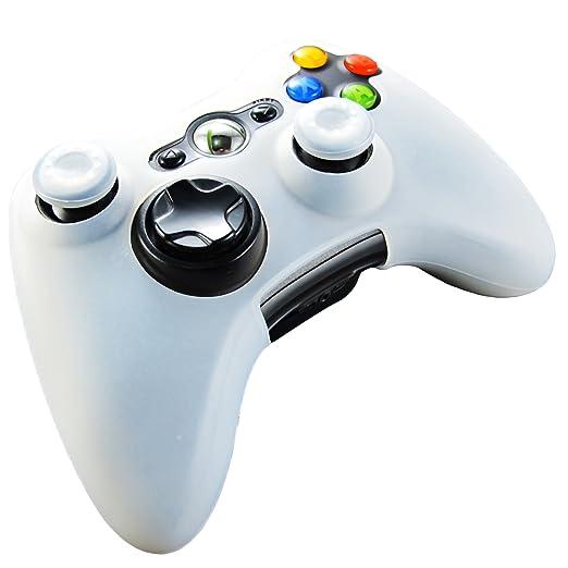 331 opinioni per Pandaren® Pelle cover skin per il Xbox 360 controller(bianco) x 1 + pollice