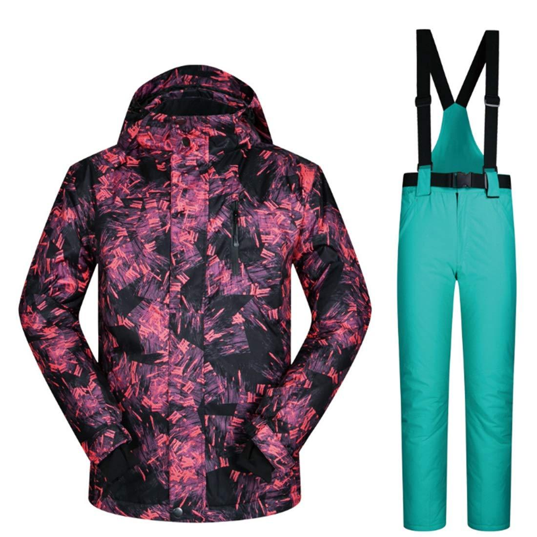 Cvthfyky Cvthfyky Cvthfyky Snowsuit da Uomo Winter Giacca da Sci e Pantaloni per la Neve da Pioggia Outdoor Hiking (Coloree   06, Dimensione   XXXL)B07MNXDDJPM 03 | Eccezionale  | Il materiale di altissima qualità  | Design affascinante  | Aspetto Attraente  | Diversif cc0310
