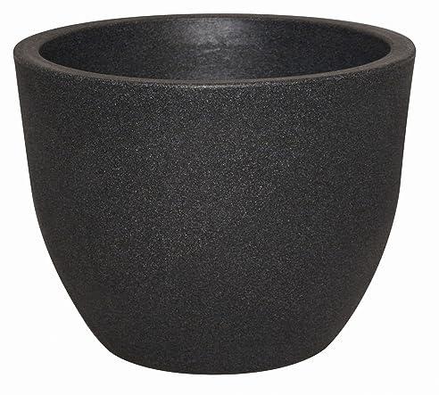Pflanzkübel RIMINI aus Kunststoff, Farbe:anthrazit;Durchmesser:60 ...