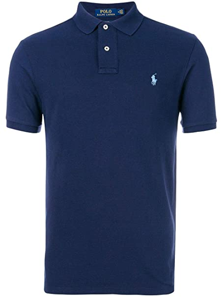 buy popular c2917 523f1 Ralph Lauren Polo Uomo 710548797010 Cotone Blu: Amazon.it ...