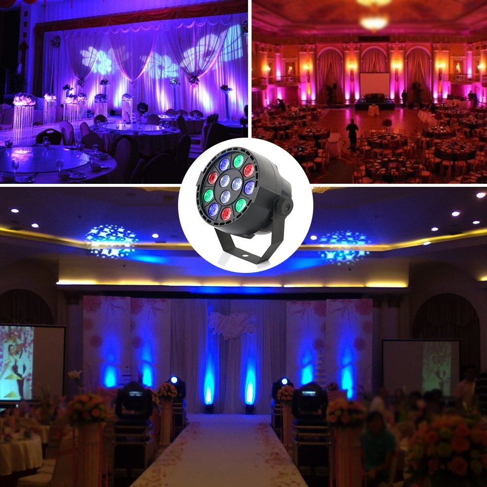 Amazon oppsk led par lights with 12led rgbw by ir remote and amazon oppsk led par lights with 12led rgbw by ir remote and dmx control for stage lighting musical instruments arubaitofo Gallery