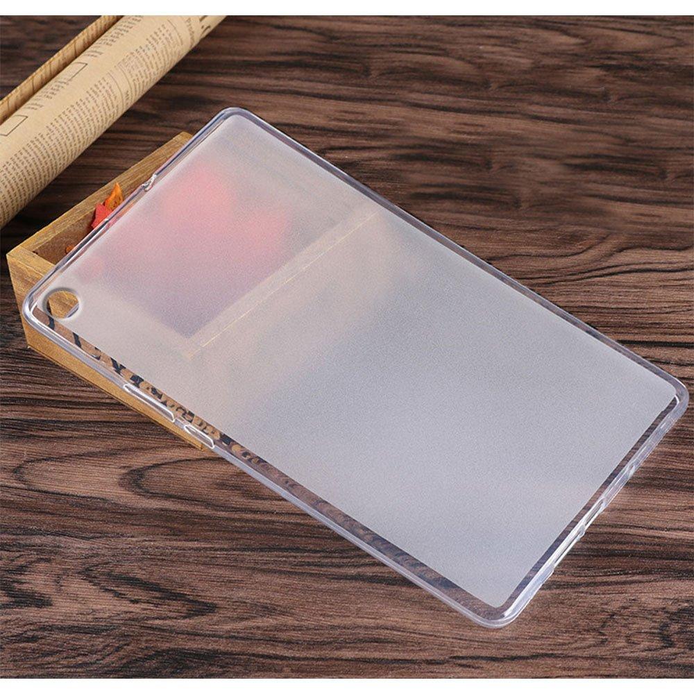 Matt transparent 10,8 Zoll Gosento Huawei MediaPad M5 H/ülle TPU Case Soft Premium Flex Silikon Backcover Ultra D/ünn Clear Semi-transparent Schutzh/ülle Tablet Cover f/ür Huawei MediaPad M5 10.8