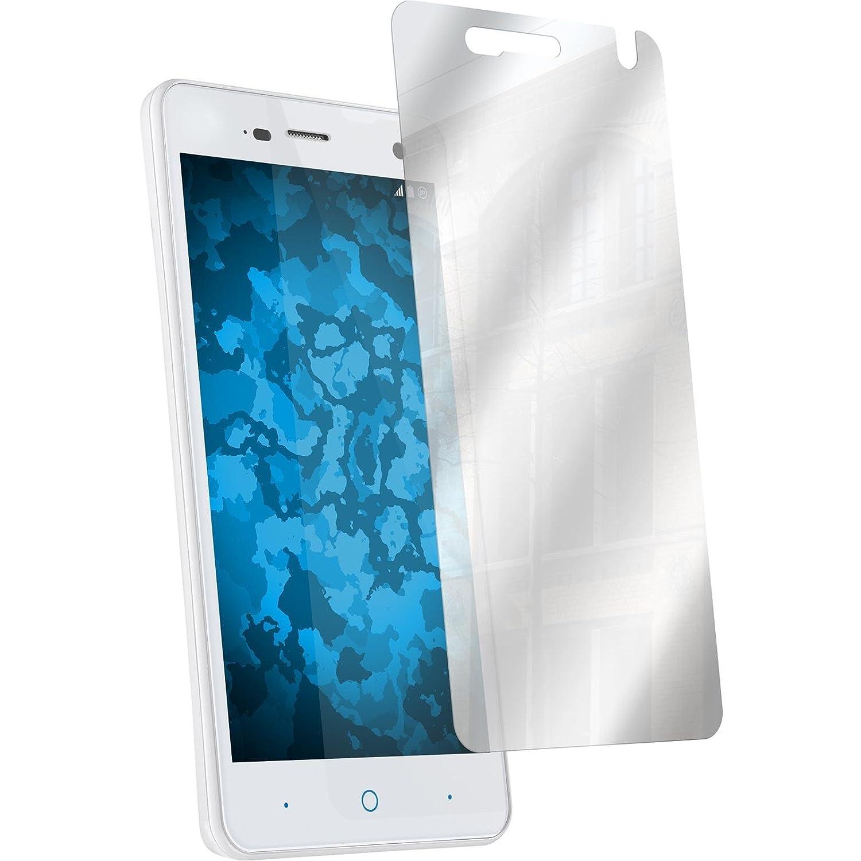 PhoneNatic Paquete de 8 Protector de Pantalla Efecto Espejo Compatible con ZTE Blade L3 Películas Protectoras: Amazon.es: Electrónica