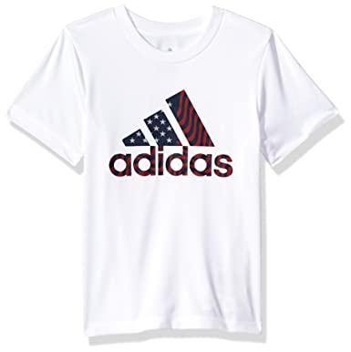 7f877aa3eb adidas Kids USA Tee (Big Kids)