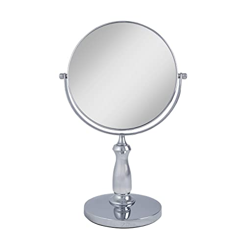 Zadro Two-Sided Swivel 8X/1X Magnification Vanity Makeup Mirror