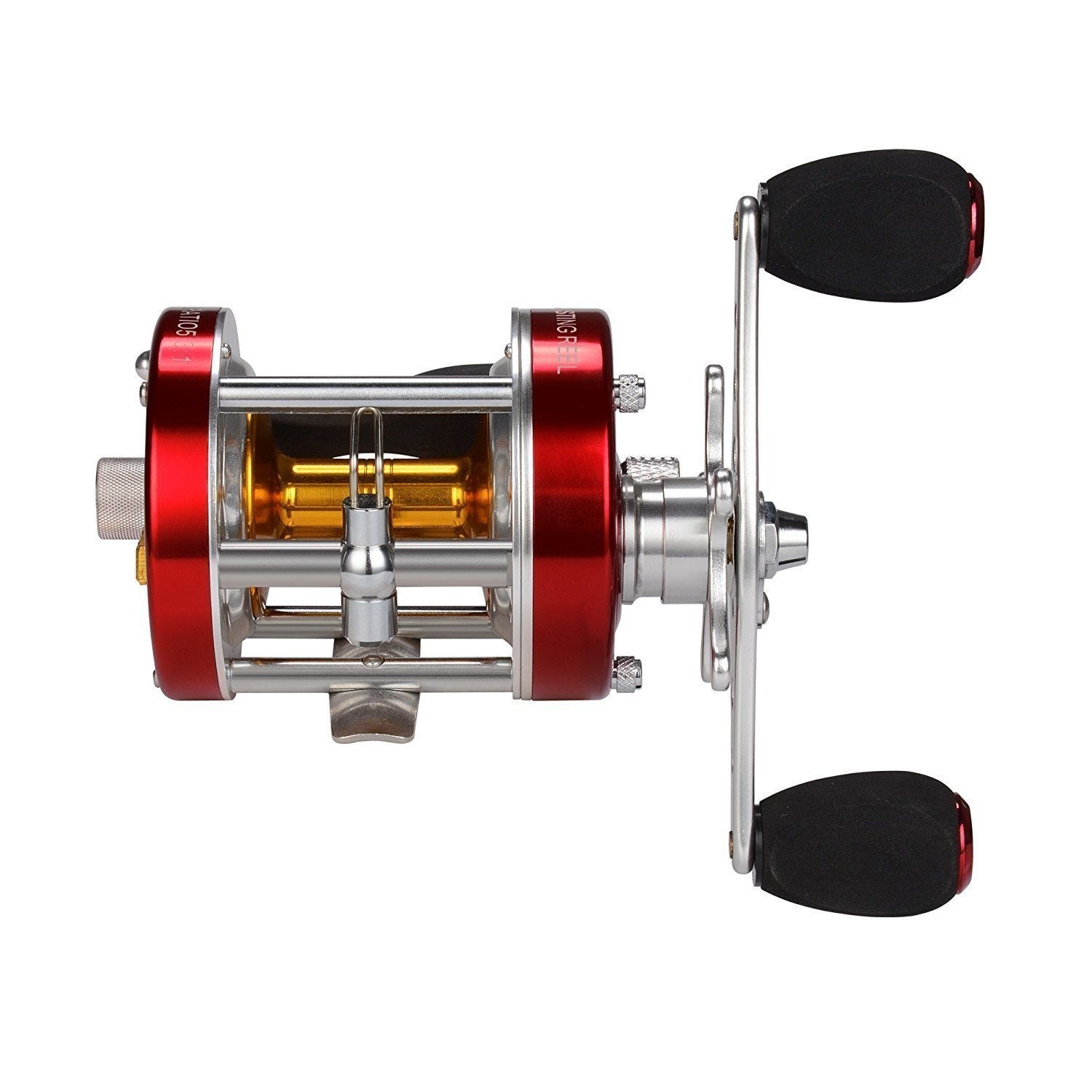 KastKing Rover Round Baitcasting Reel - No. 1 Rated Conventional Reel - Carbon Fiber Star Drag - Reinforced Metal Body by KastKing (Image #4)