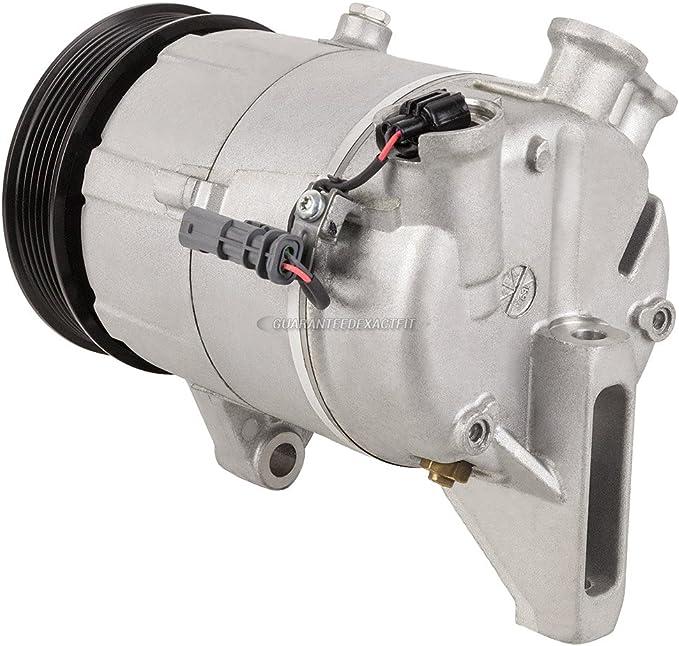 For Buick LaCrosse 2010 2011 AC Compressor w/A/C Condenser ...