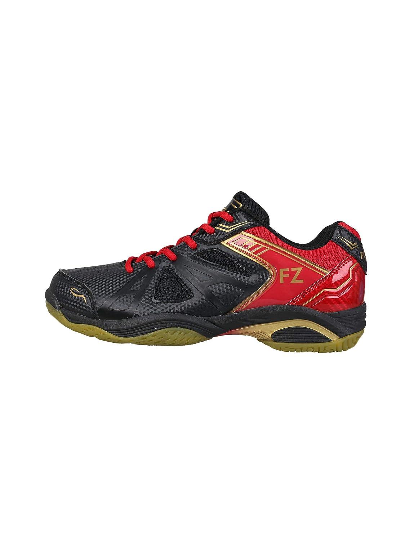 FZ Forza - Chaussure de Gymnastique Extremely - Noire, pour Homme - idé ale pour Le Squash, Le Badminton, Le Tennis, etc. pour Homme - idéale pour Le Squash