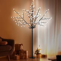 1.8M LED Blossom Twig Tree Christmas Holiday Décor Waterproof White Halloween Lighted Decoration Jingle Jollys Outdoor…