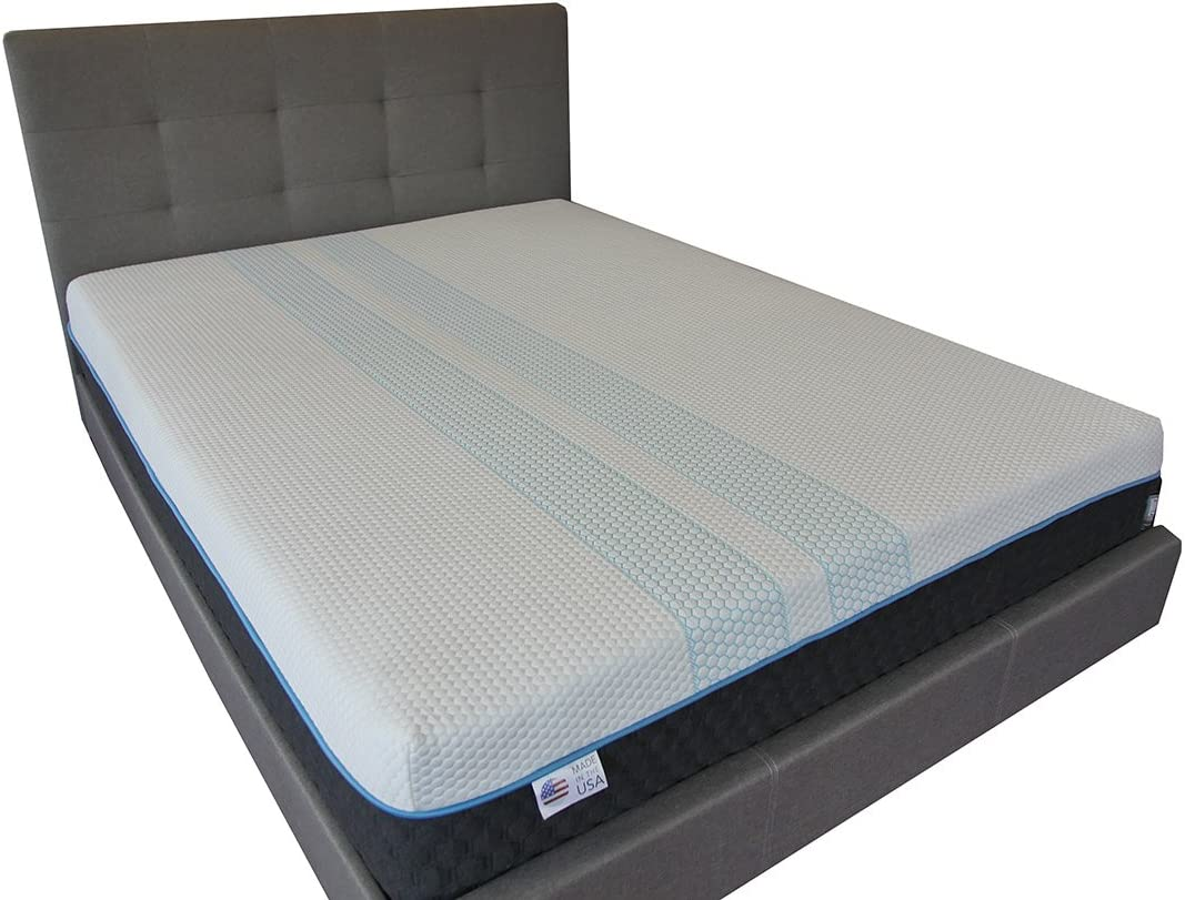 Amazon Com Rally Cooling Mattress Copper Infused Memory Foam