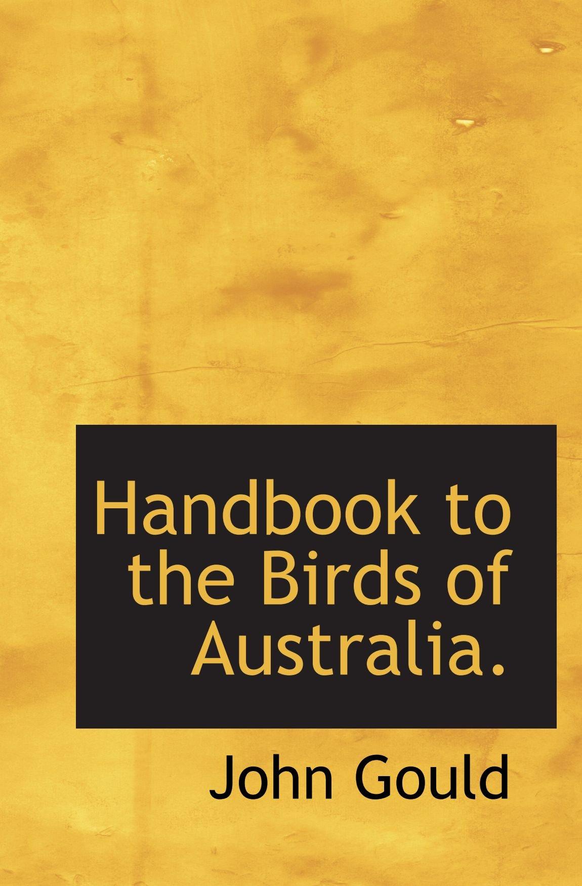 Handbook to the Birds of Australia. PDF