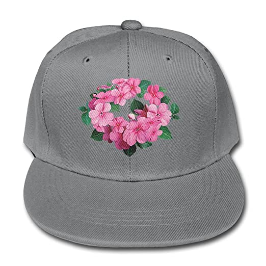 c2be0420380 Xxh Trucker Hat Solid Color Baseball Caps Boy Pink Floral Circle Girl  Adjustable