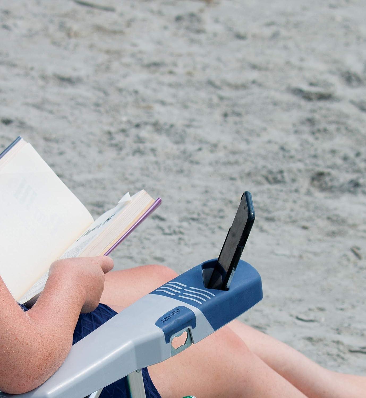 Rio Beach 4-Position 15 Tall Folding Beach Chair – Stripe