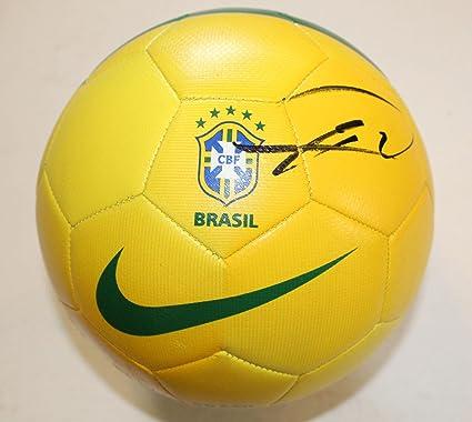 b9d896ccbe3 Kaka Signed Brazil Nike Soccer Ball w COA Real Madrid Futbol MLS All Star -