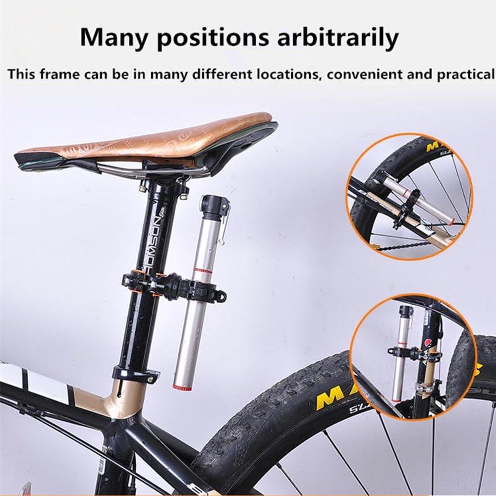 ZHIXIE Universal 360-degree Rotating Bike Bicycle Handlebar Mount LED Flashlight Torch Mount Clamp Clip Holder Grip Bracket /…