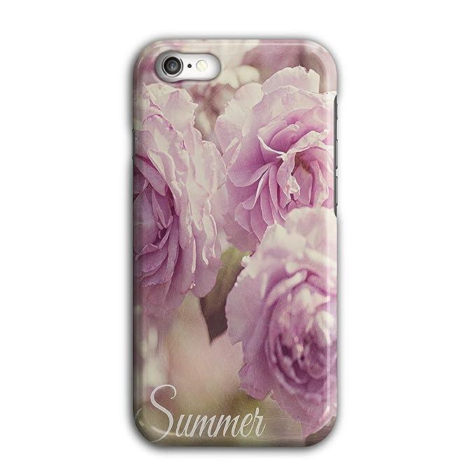 726a9cee Amazon.com: Wellcoda Summer Rose Flower Nature 3D iPhone 7 Case ...