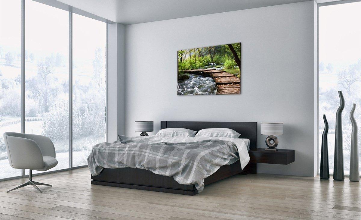 Breite: 70cm GAA70x50-0356 H/öhe: 50cm zum Aufh/ängen bereit Bilder Einteilig Bildnummer 0356 Bild auf Glas Kunstdruck Glasbilder