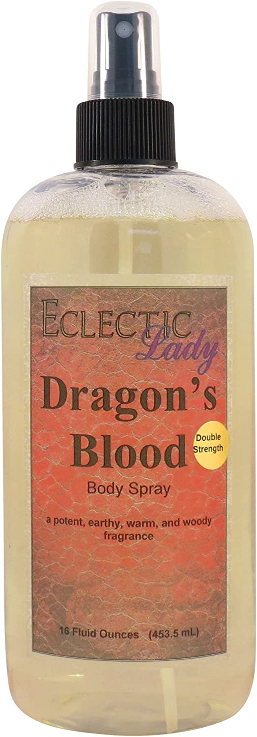 Dragon's Blood Body Spray, 8 ounces Dragon' s Blood Body Spray Eclectic Lady