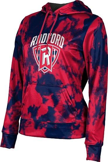 Grunge School Spirit Sweatshirt ProSphere University of Akron Girls Pullover Hoodie