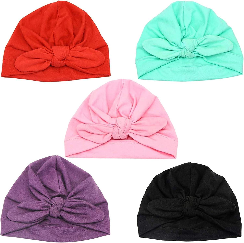 Hairband Cap Elastic Floral Headband Baby Sunscreen Kids Flower Turban Hat