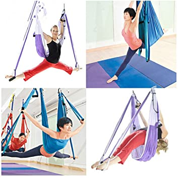 Decent Gadget Yoga Fitness Inversion Swing Anti-Gravity ...