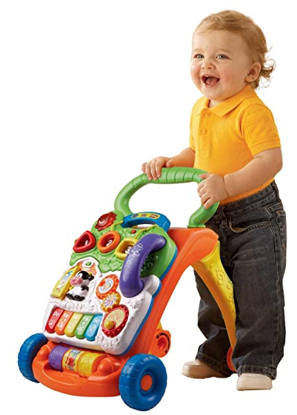VTech Sit-to-Stand Learning Walker - Best Baby Push Walker