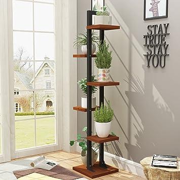 Blumenstander Nmpz Kreative Multilayer Standing Blume Stand Balkon