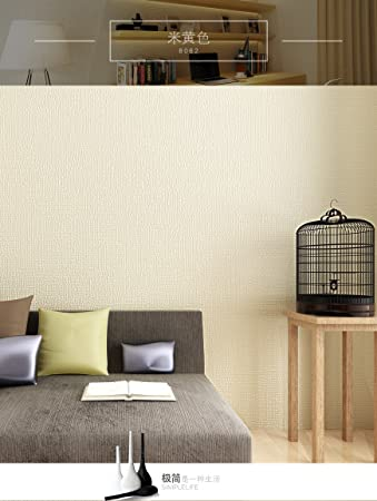 OYB Moderne Einfachen Klaren Farbe Kaffee Tv Hintergrund Geprägt Aus Tapete  Schlafzimmer Wohnzimmer Tapete,beige