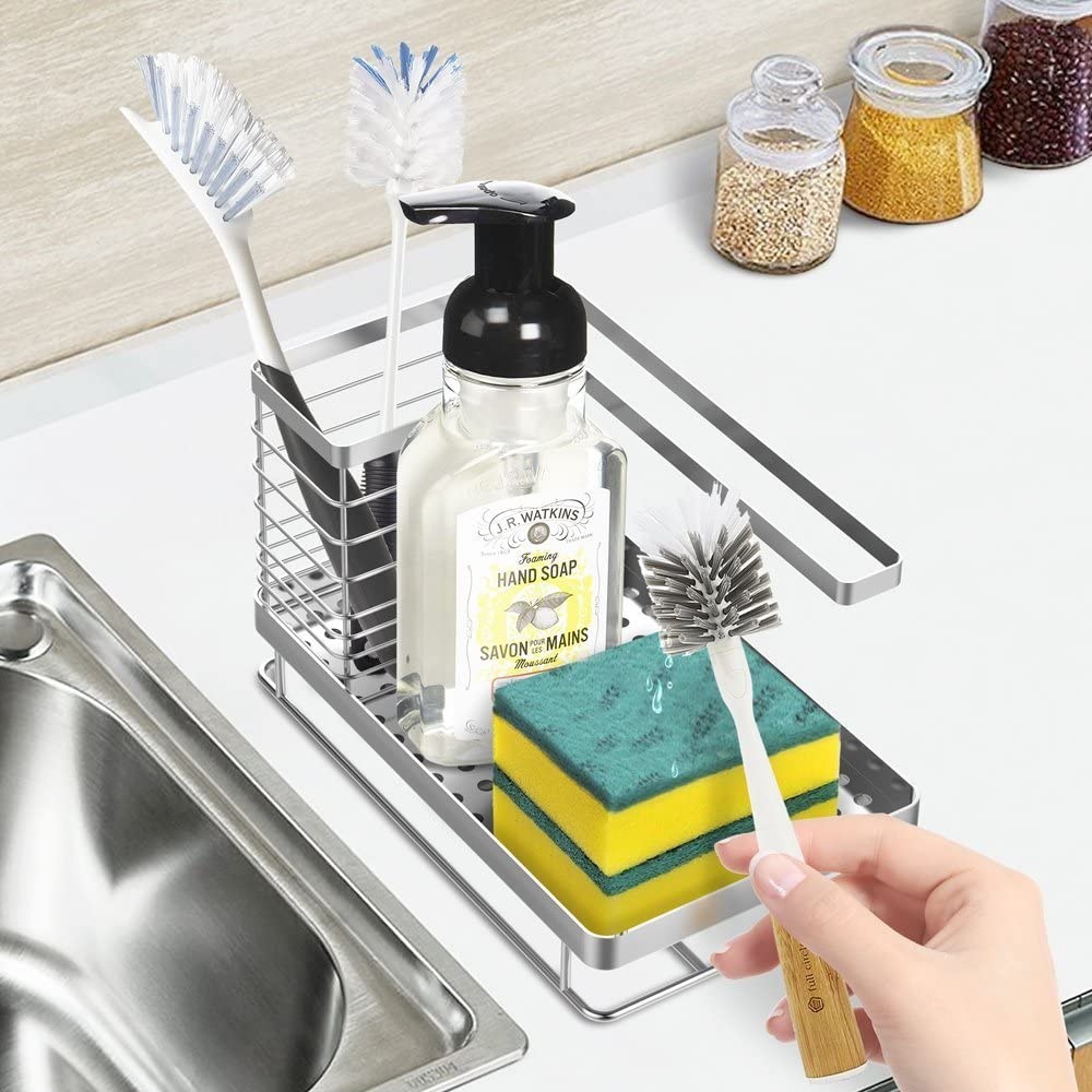 Oriware Organizador Sink Caddy Soporte para Utensilios de Cocina ...