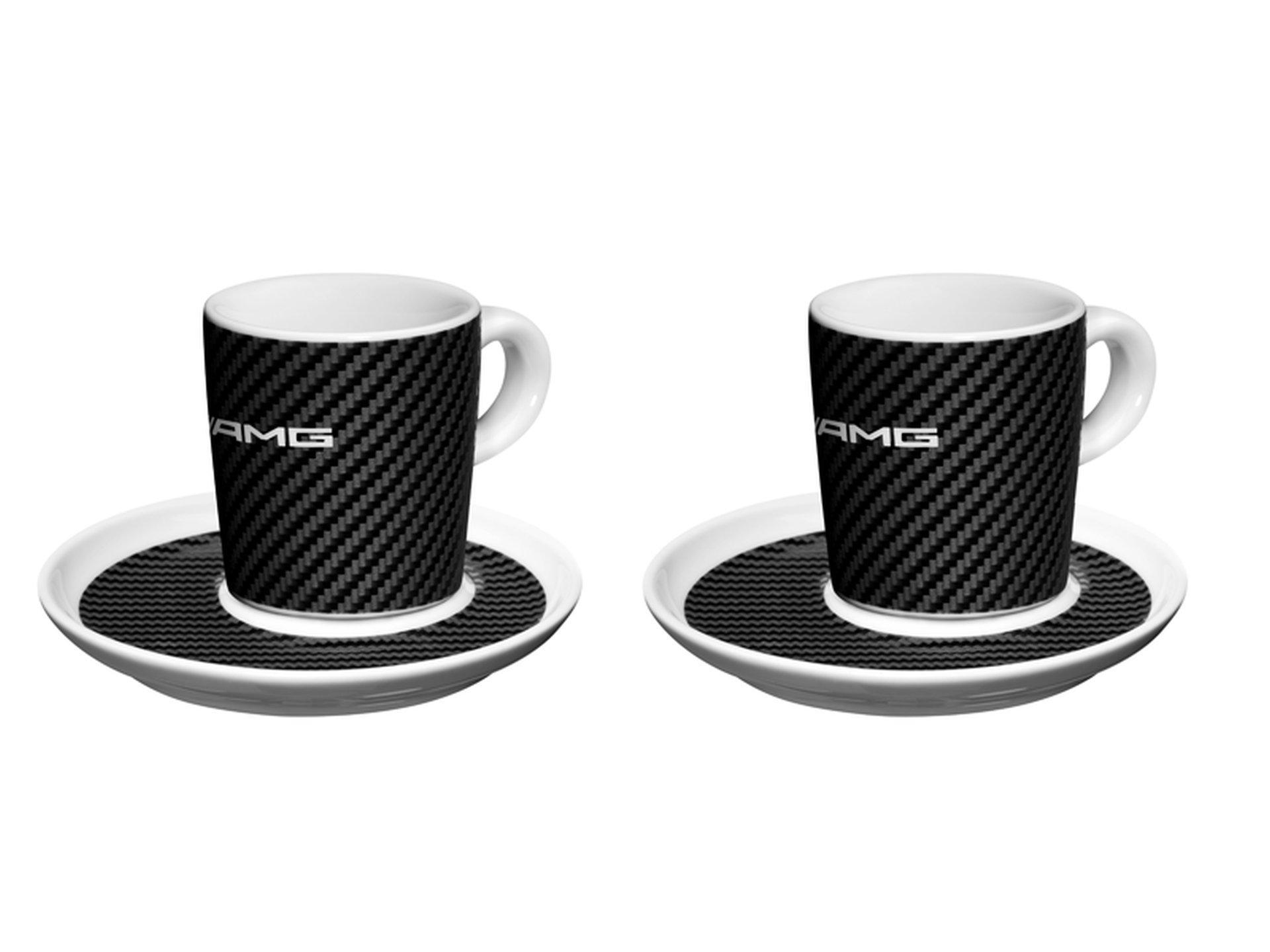 Mercedes-Benz, AMG, Espresso cups, Set of 2