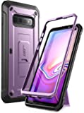 SUPCASE Unicorn Beetle Pro Series Designed for Samsung Galaxy S10 Plus Case (2019 Release) Full-Body Dual Layer Rugged with Holster & Kickstand Without Built-in Screen Protector (Purple)