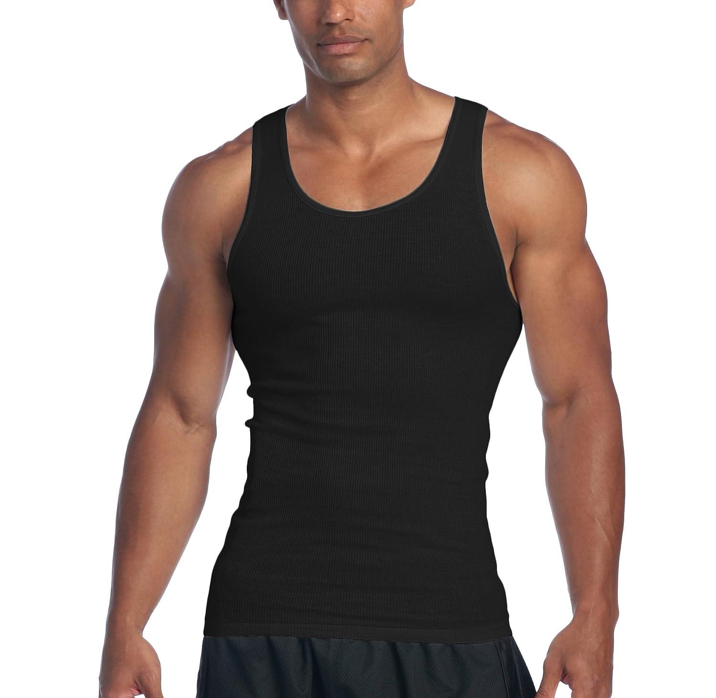 Pro Club SHIRT メンズ B01MUHQMM5 L|Black (2 Pack) Black (2 Pack) L