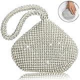 TOPCHANCES Women's Evening Clutch Bag Triangle...