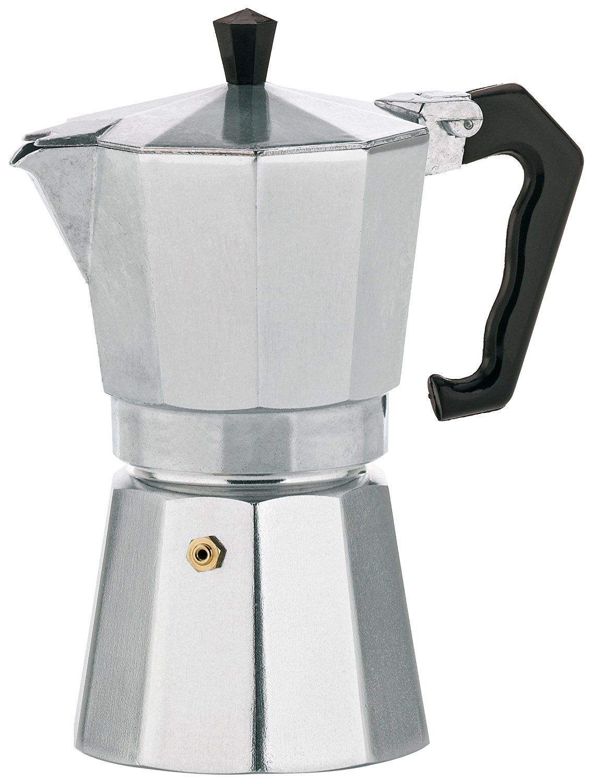 Ernesto Espressokocher, Aluminium, für 9 Tassen für 9 Tassen