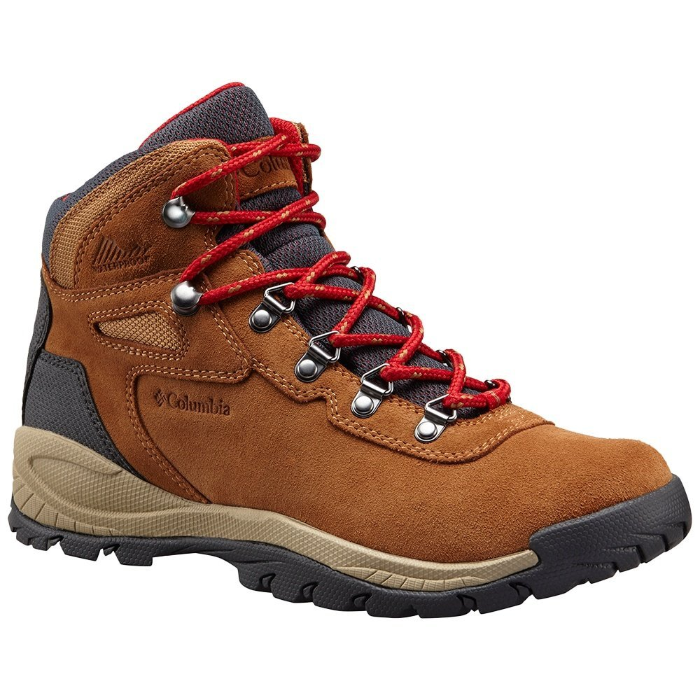 Columbia Women's Newton Ridge Plus Waterproof Amped Hiking Boot B073RNRJH2 10.5 W US|Elk, Mountain Red