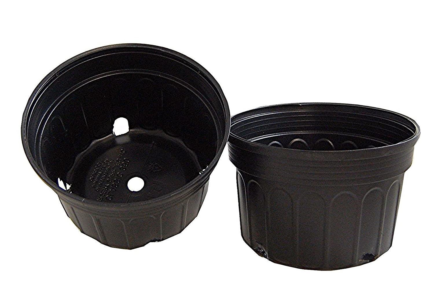 Mum Pan, Black, Nursery Supplies 350C, Garden Container 25