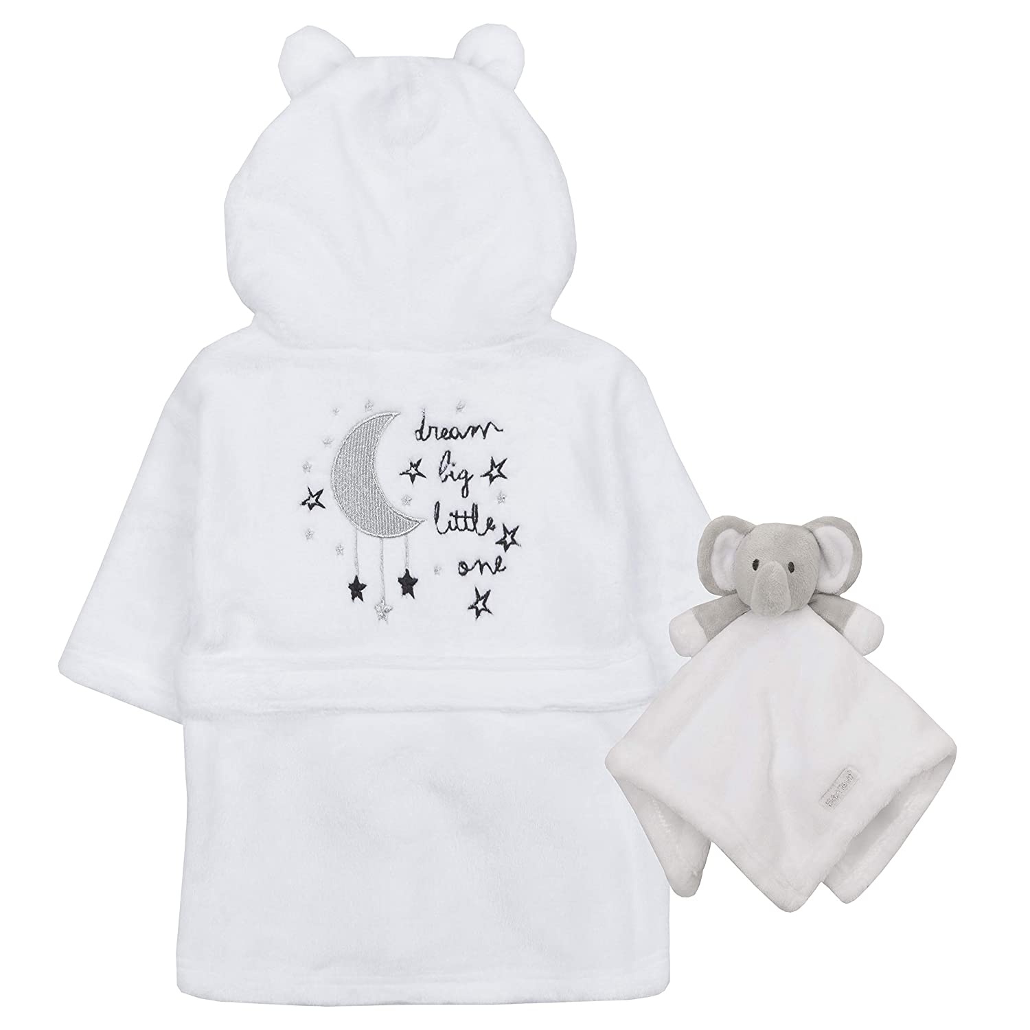 d05b1eaafc Babytown Baby Boys   Girls Star Plush Fleece Dressing Gown  Amazon.co.uk   Clothing
